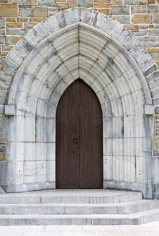 Free Church Door Royalty Free Stock Images - 15898689