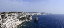 Free France, Corsica, Bonifacio Rocky Coast Stock Photo - 15899000
