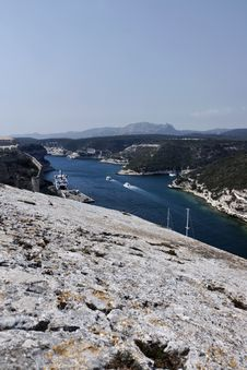 Free France, Corsica, Bonifacio Stock Photography - 15899192