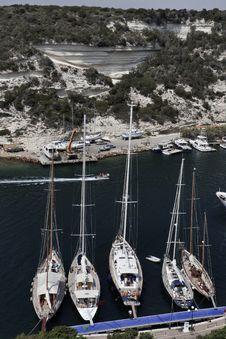 Free France, Corsica, Bonifacio Royalty Free Stock Image - 15899276