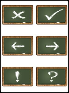Free Blackboard Collection 1 Stock Images - 15899504