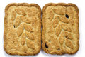 Free Two Cookies Royalty Free Stock Images - 1593579