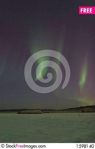 Free Sporadic Aurora In The Sky Stock Photo - 1598140