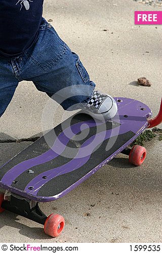 Free Skate Royalty Free Stock Photo - 1599535
