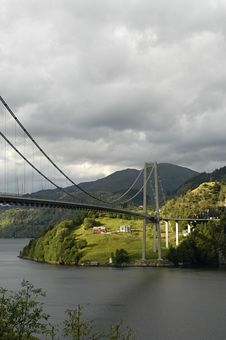 Free Fjord Viaduct Stock Photo - 1590050
