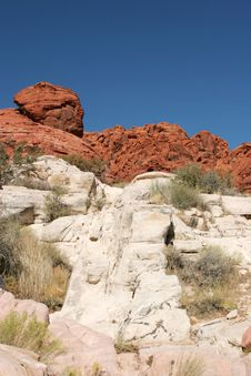 Free Red Rock Formations Royalty Free Stock Photography - 1590337