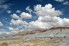 Free Painted Desert Royalty Free Stock Photography - 1590447