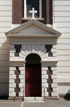 Free Church Entrance Royalty Free Stock Photo - 1590695
