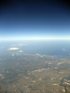 Free Sydney From The Air Royalty Free Stock Photography - 1590717