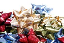 Free Christmas Bows Royalty Free Stock Images - 1590729