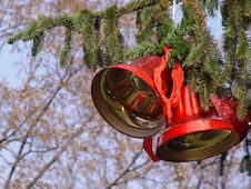 Free Christmas Bells Stock Image - 1590911