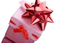 Free Pink Gift Box Stock Images - 1591874