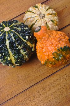 Free Various Gourds Royalty Free Stock Image - 1592006