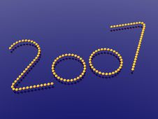 Free New Year 2007 Royalty Free Stock Images - 1592109