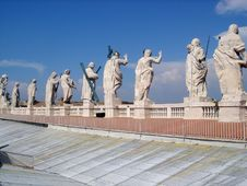 Free Apostles In Vatican Stock Photography - 1592152