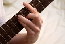 Free Guitar Chord Stock Photo - 1593310