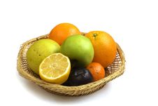 Free Fruit Basket Stock Photography - 1593502