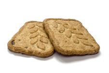 Free Two Cookies Stock Photo - 1593540
