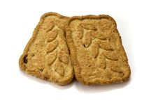 Free Two Cookies Royalty Free Stock Photos - 1593558