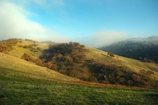 Free Fog Over Hill Stock Photos - 1593863