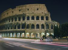 Free Colosseum At Night Stock Photo - 1595080