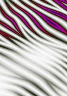 Abstract Fantasy Curves Stock Images
