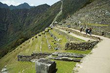 Machu-Picchu Ruins Royalty Free Stock Image