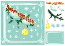 Christmas Design Elements. Royalty Free Stock Image