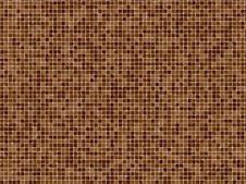Free Brown Mosaïc Tiles Stock Image - 1597541