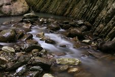 Free Streamlet Among Rocks Royalty Free Stock Photo - 1597675