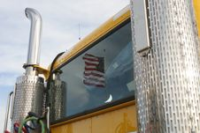 Free Old Glory Reflection Royalty Free Stock Photography - 1597967
