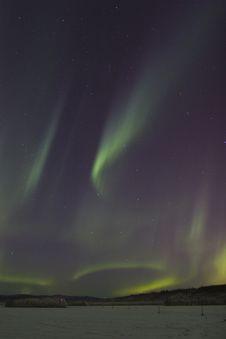Free Sporadic Northern Lights Stock Photos - 1598193