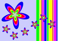 Free Vectorial Flower Pattern Stock Images - 1598344