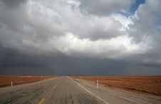 Free Road In Desert Royalty Free Stock Images - 1599699