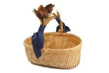 Free Straw Basket Stock Photo - 1599750