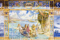 Free Tile Painting In Seville Stock Images - 15901154