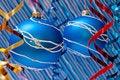 Free Blue Balls Royalty Free Stock Photos - 15906298