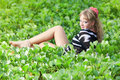 Free Woman In Grass Royalty Free Stock Images - 15906639