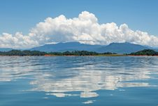 Free Nam Ngum Reservoir In Laos Stock Photography - 15902032