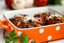 Free Stuffed Mushrooms Stock Images - 15902054