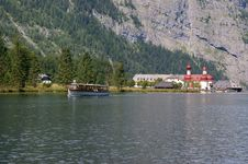 Free On The  Koenigssee  Stock Photo - 15902660