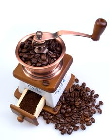 Free Ancient Coffee Grinder Stock Photos - 15902893