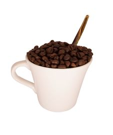 Free Coffee Cup Stock Photography - 15903602