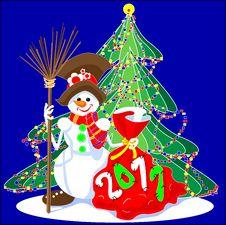 Free Snowman Stock Photo - 15903770