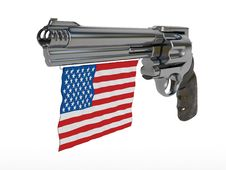 Free American Gun Royalty Free Stock Images - 15903879
