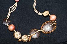 Free Brown Ethno Jewelery Royalty Free Stock Photos - 15904498