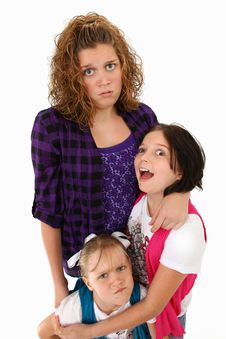 Free Funny Family Expressions Stock Photo - 15904850
