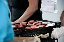 Free Sausages On The Grill Royalty Free Stock Photo - 15905505
