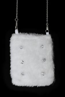 Fur Pouch | Isolated Royalty Free Stock Image