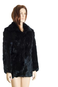 Free Mannequin In Fur Coat | Isolated Stock Photography - 15906112